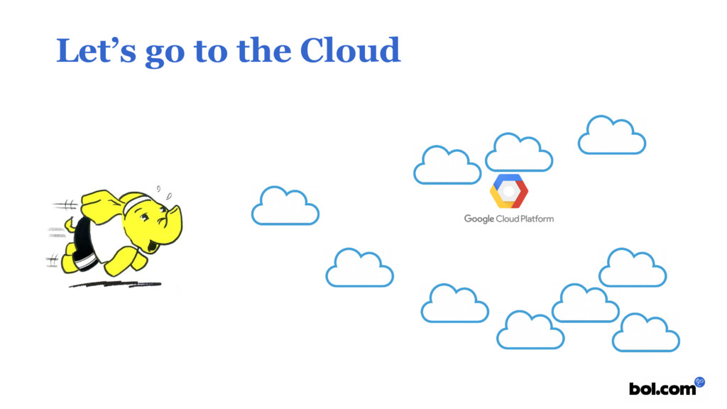 Let's go to the Cloud