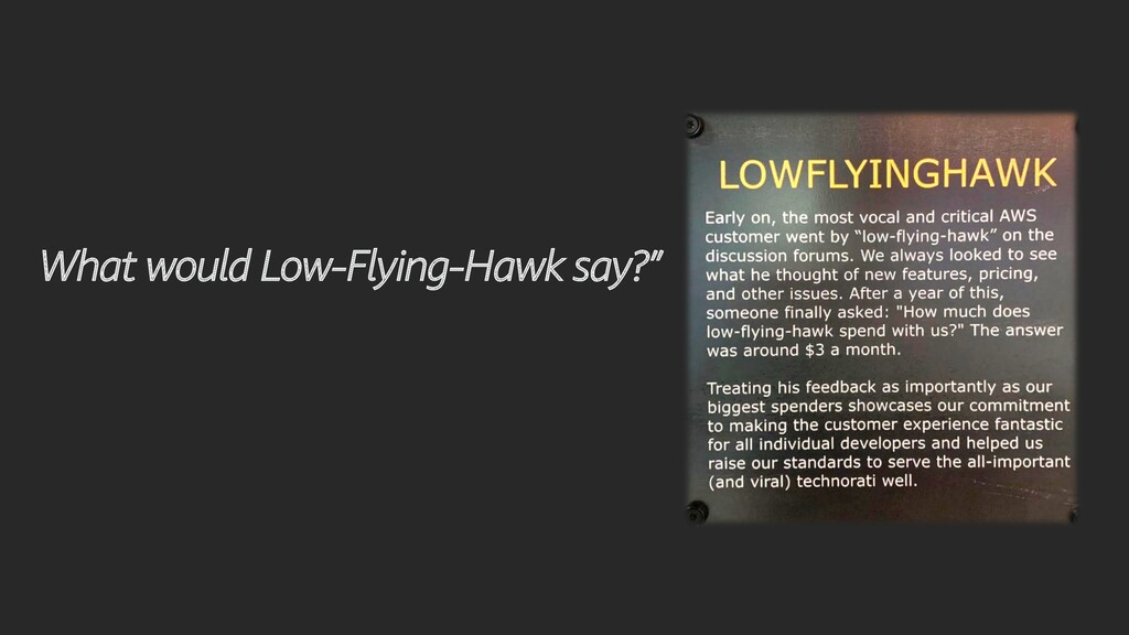 """What would Low-Flying-Hawk say?"""""""