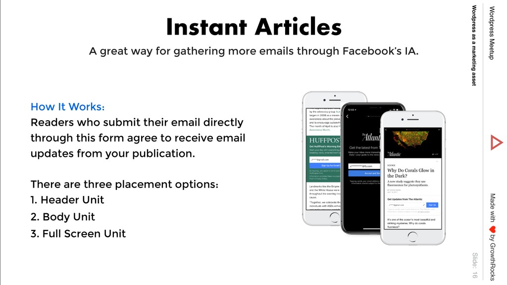 Slide: Wordpress Meetup Wordpress as a marketin...