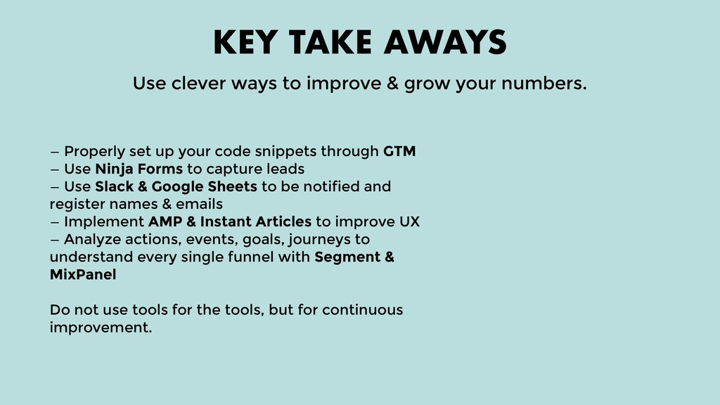 — Properly set up your code snippets through GT...