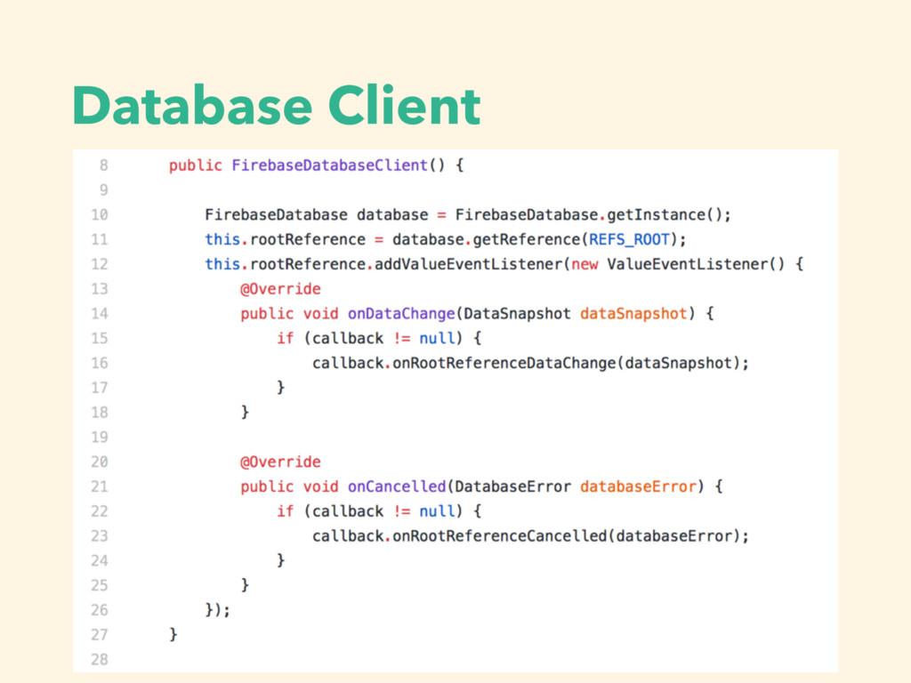 Database Client