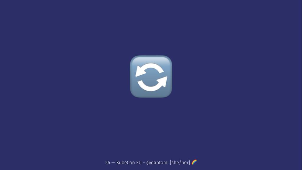 ! 56 — KubeCon EU - @dantoml [she/her] !