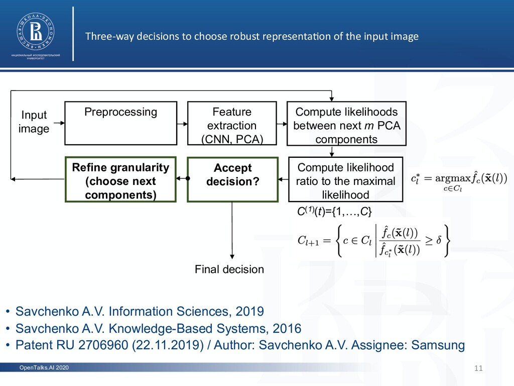 OpenTalks.AI 2020 Three-way decisions to choose...
