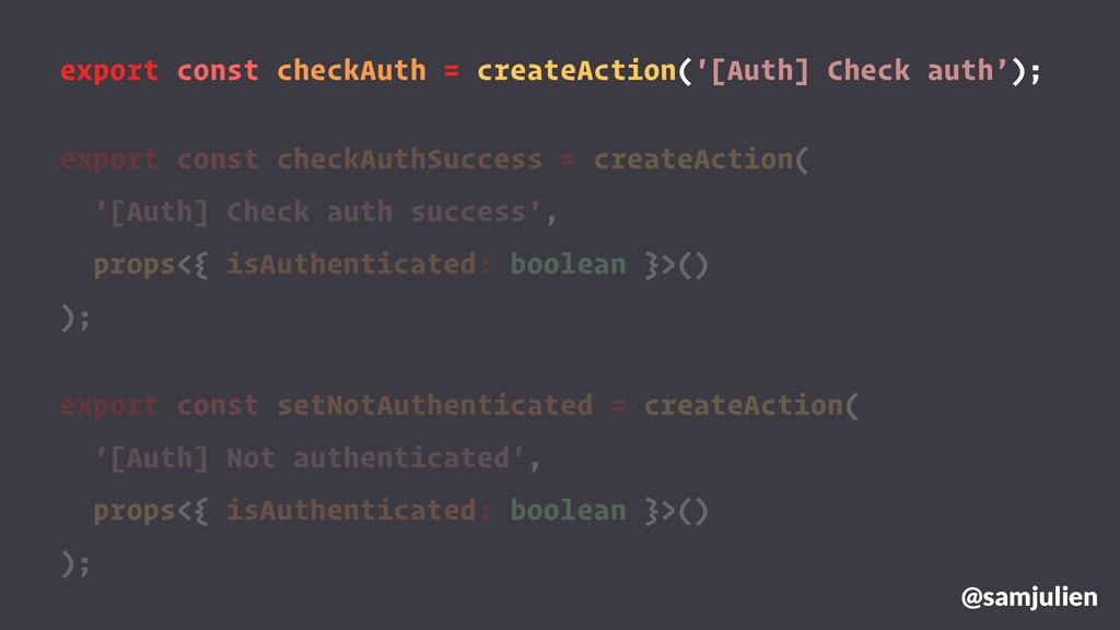 export const checkAuth = createAction('[Auth] C...