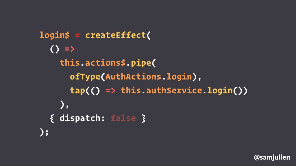 login$ = createEffect( () => this.actions$.pipe...
