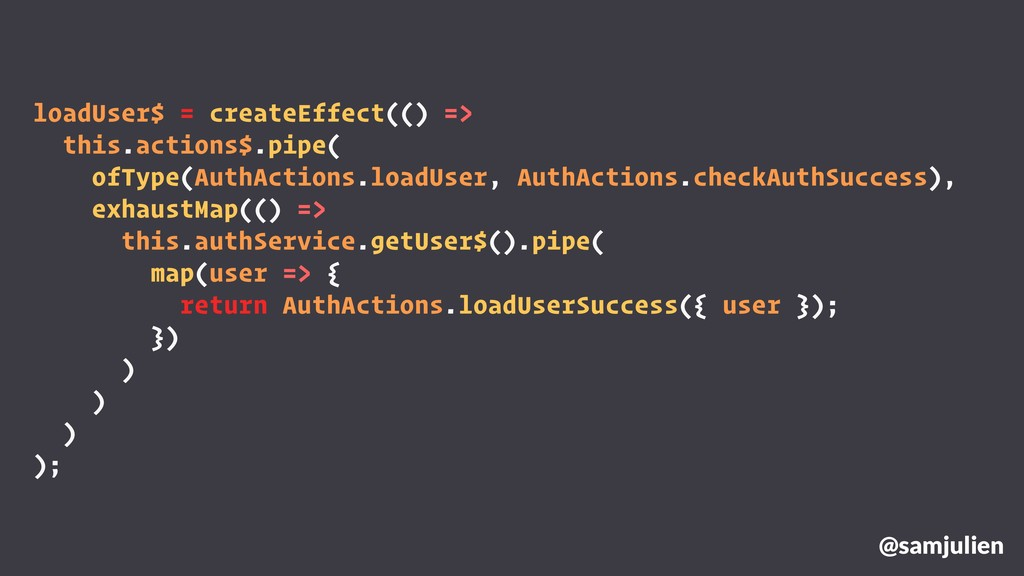 loadUser$ = createEffect(() => this.actions$.pi...
