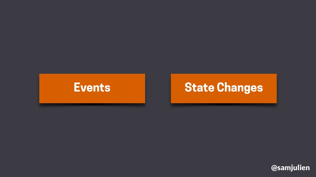Events State Changes @samjulien