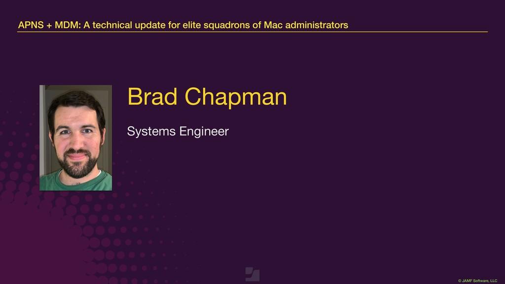 © JAMF Software, LLC APNS + MDM: A technical up...
