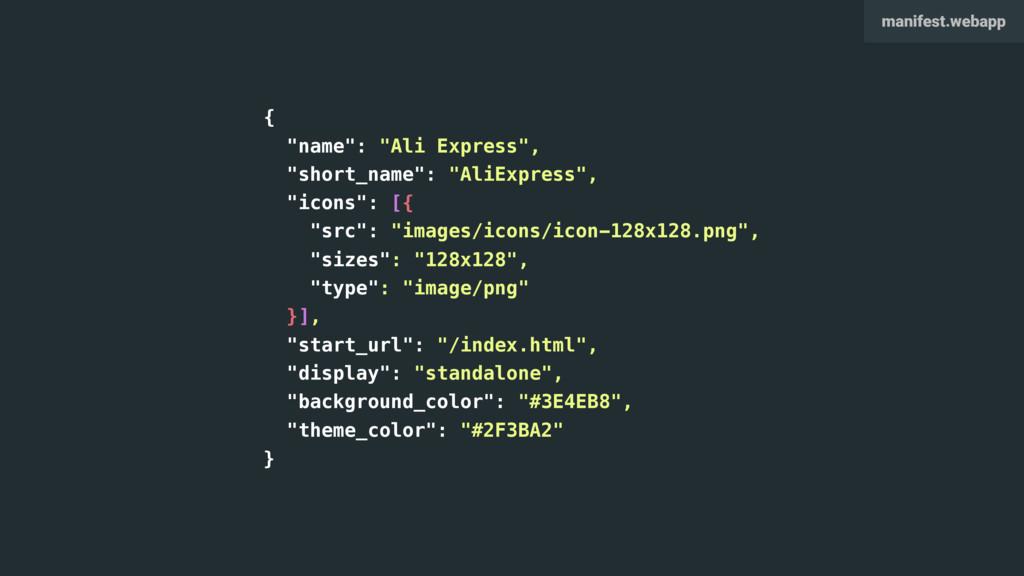 """{ """"name"""": """"Ali Express"""", """"short_name"""": """"AliExpr..."""