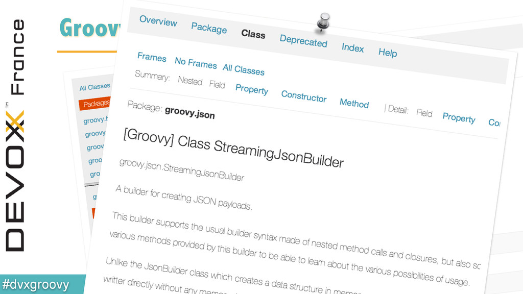 @glaforge #dvxgroovy GroovyDoc: new style