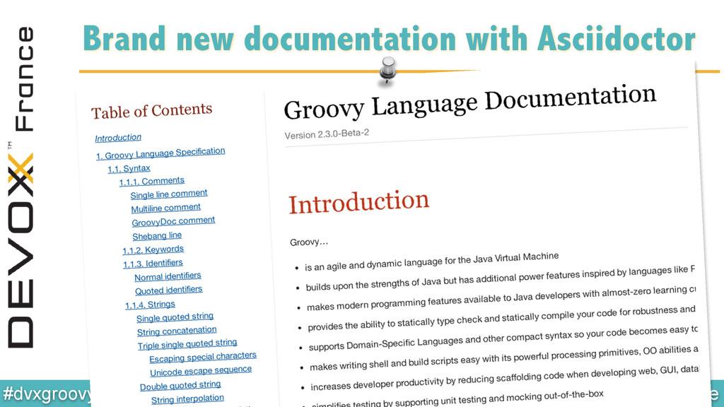 @glaforge #dvxgroovy Brand new documentation wi...