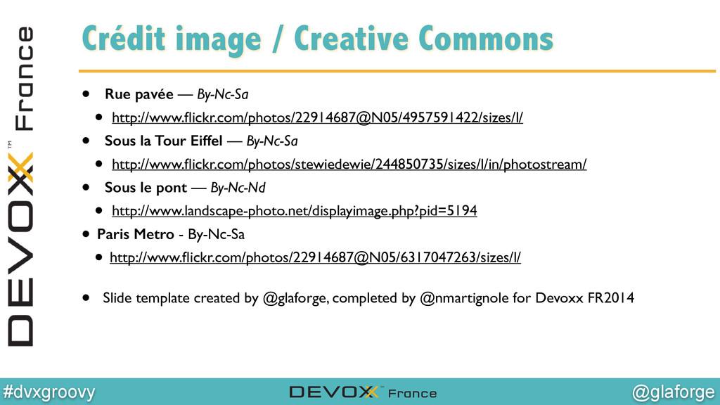 @glaforge #dvxgroovy Crédit image / Creative Co...