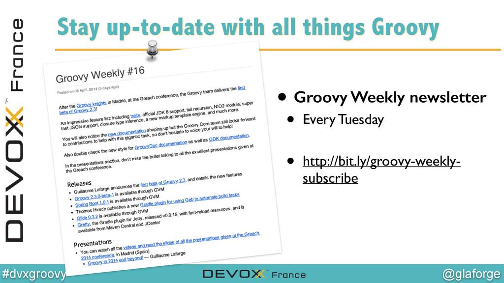 @glaforge #dvxgroovy Stay up-to-date with all t...