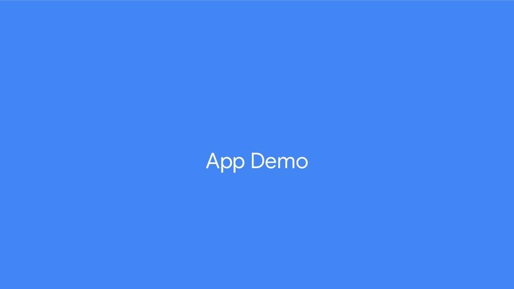 App Demo