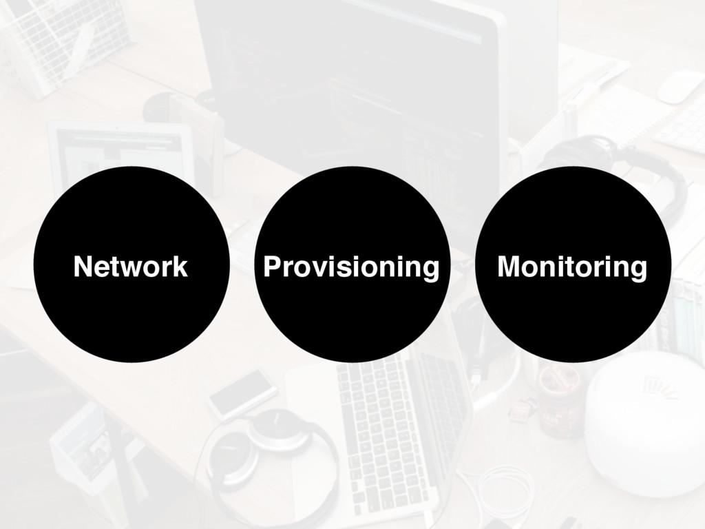 Provisioning Monitoring Network