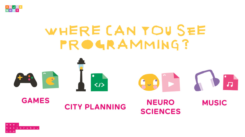 WHERE CAN YOU SEE PROGRAMMING? GAMES CITY PLANN...
