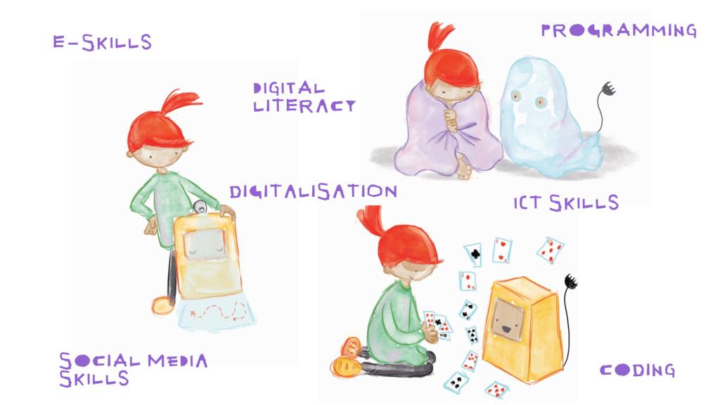E-SKILLS DIGITALISATION SOCIAL MEDIA SKILLS ICT...
