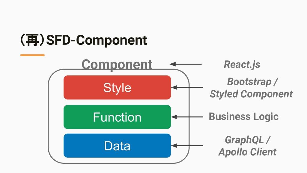 (再)SFD-Component Data Function Style Component ...