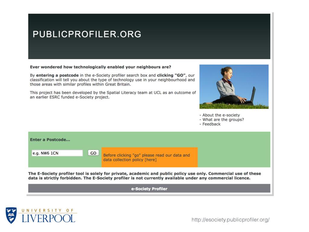 http://esociety.publicprofiler.org/