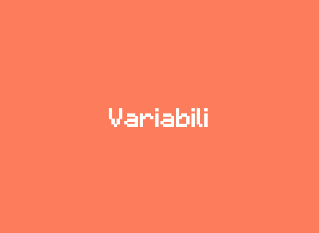 Variabili