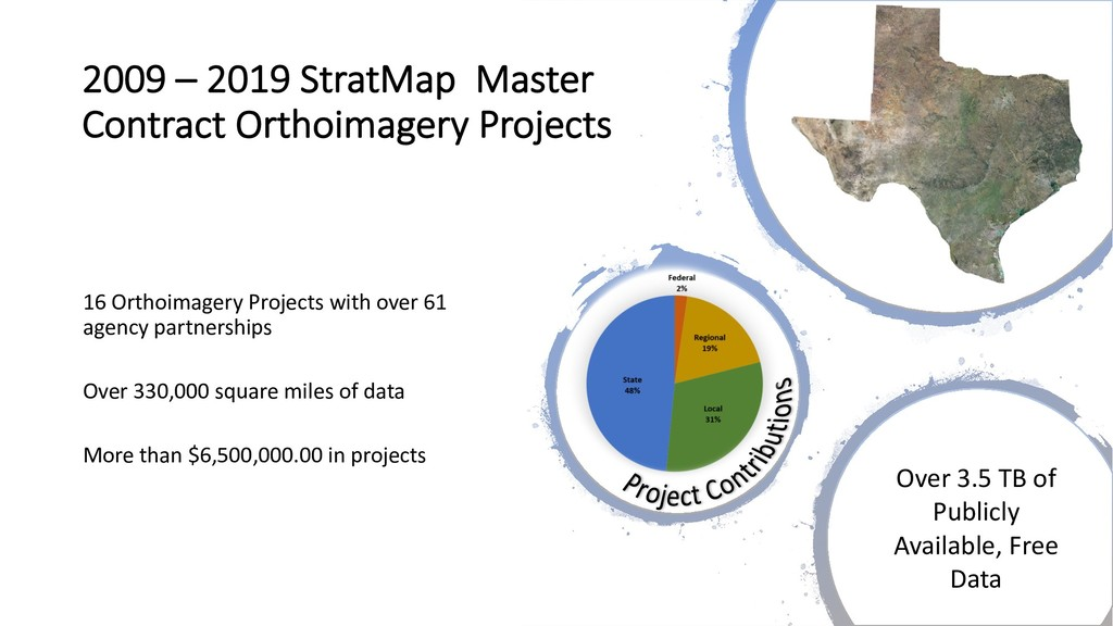 2009 – 2019 StratMap Master Contract Orthoimage...