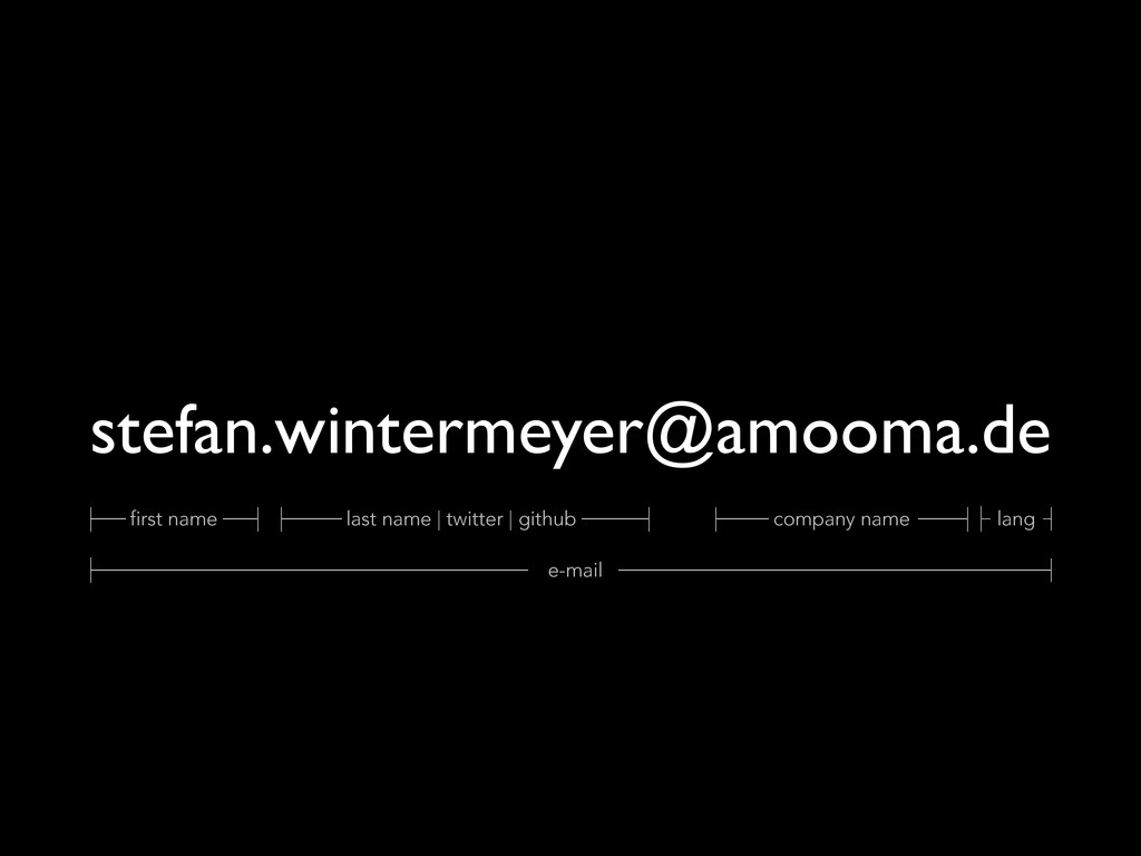 stefan.wintermeyer@amooma.de first name last na...