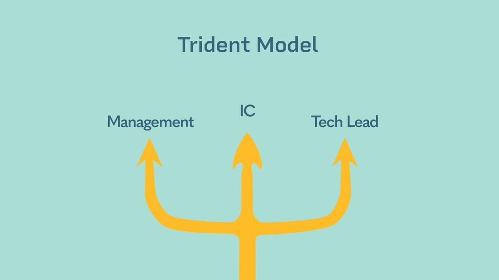 Management IC Tech Lead Trident Model bit.ly/tr...