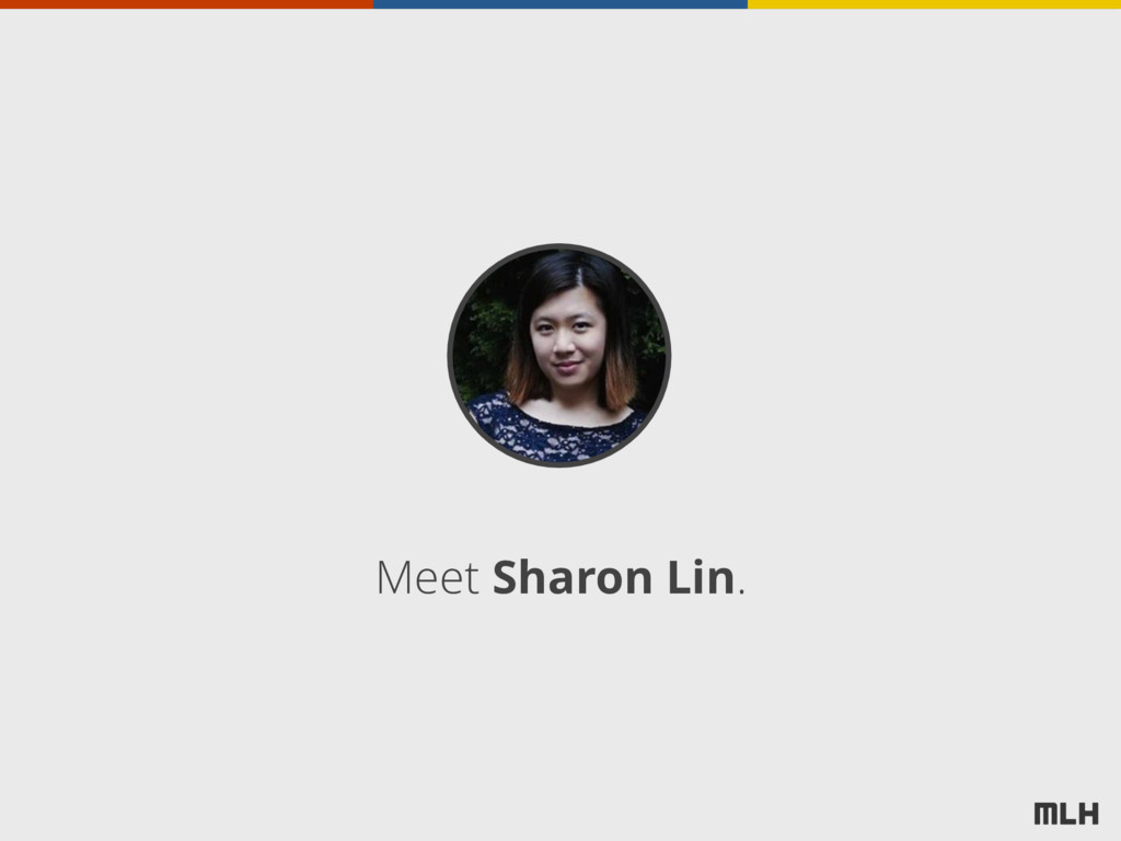 Meet Sharon Lin.