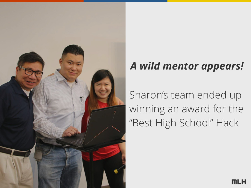 A wild mentor appears! Sharon's team ended up w...