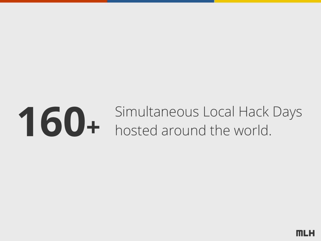 Simultaneous Local Hack Days hosted around the ...