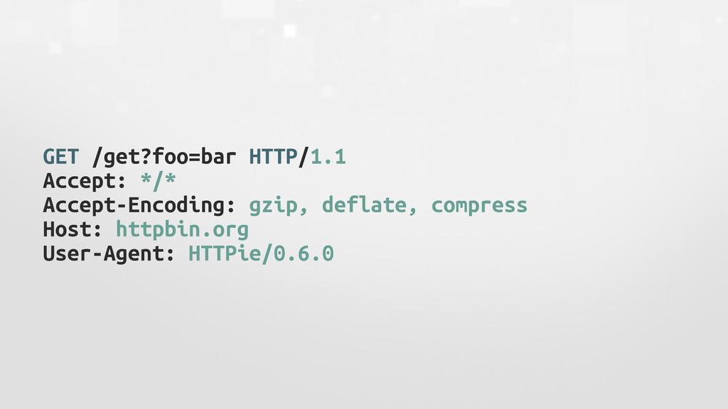 GET /get?foo=bar HTTP/1.1 Accept: */* Accept-En...