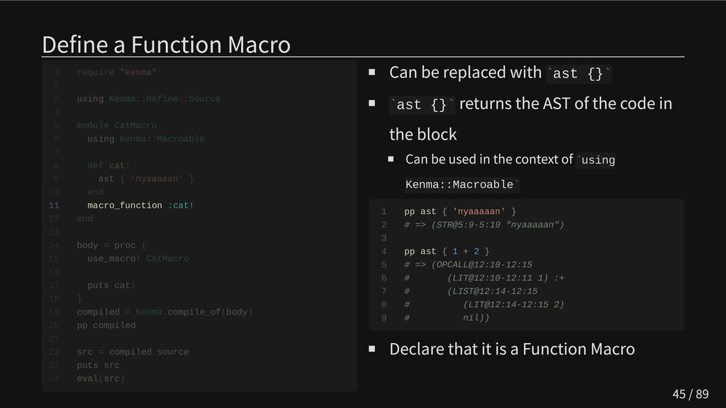 Define a Function Macro           11 macro_func...