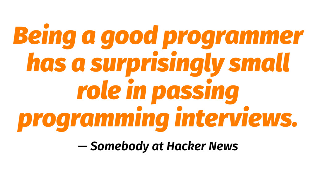 Being a good programmer has a surprisingly smal...