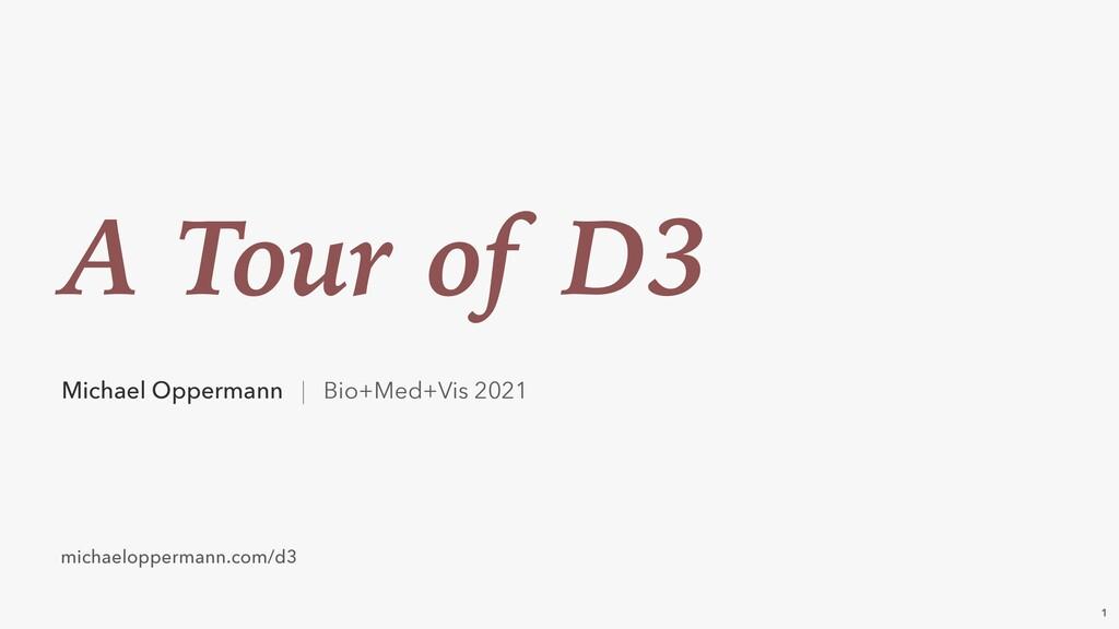 Michael Oppermann | Bio+Med+Vis 2021 A Tour of ...