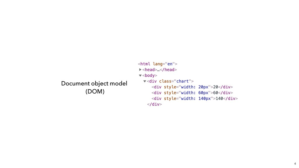 4 Document object model (DOM)
