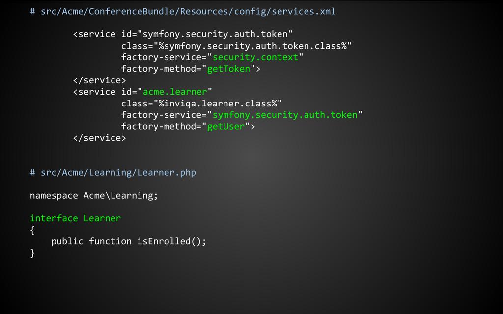 # src/Acme/ConferenceBundle/Resources/config/se...