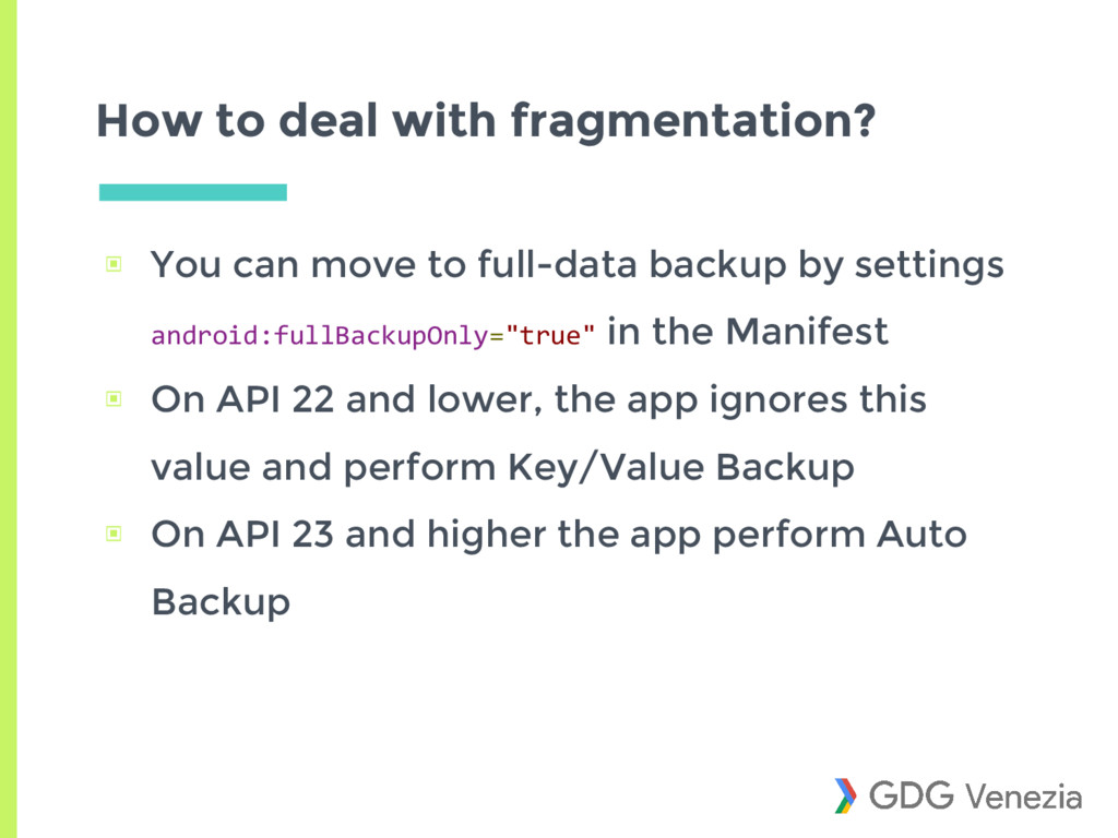 How to deal with fragmentation? ▣ You can move ...