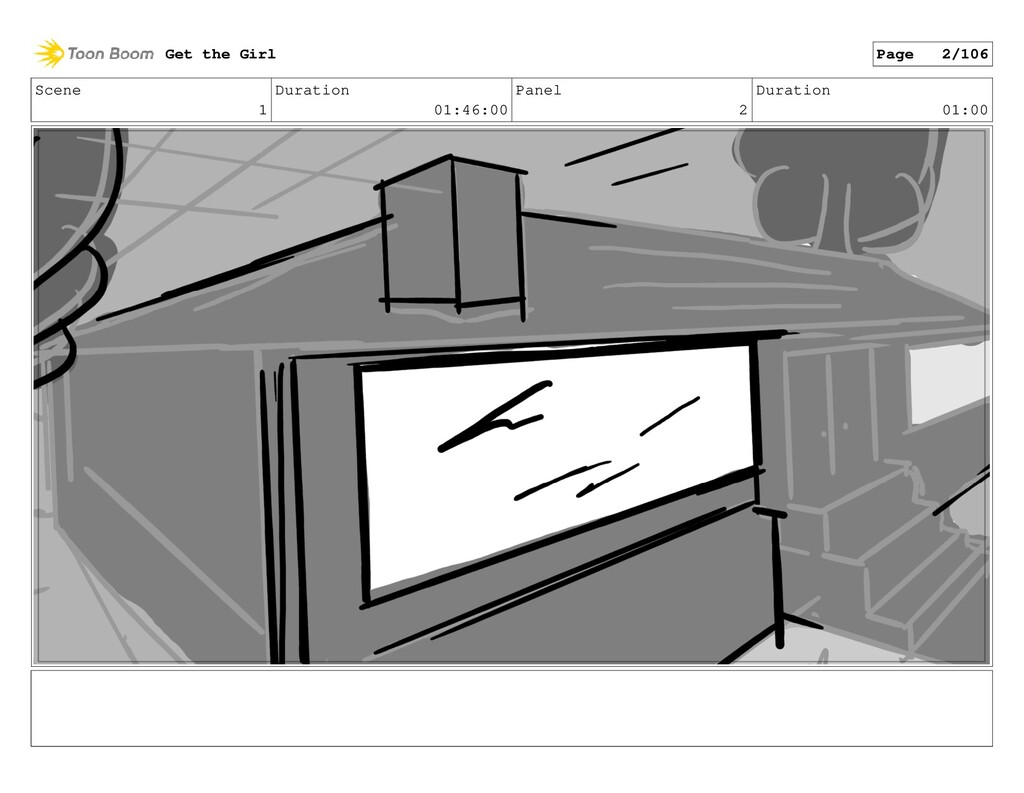 Scene 1 Duration 01:46:00 Panel 2 Duration 01:0...