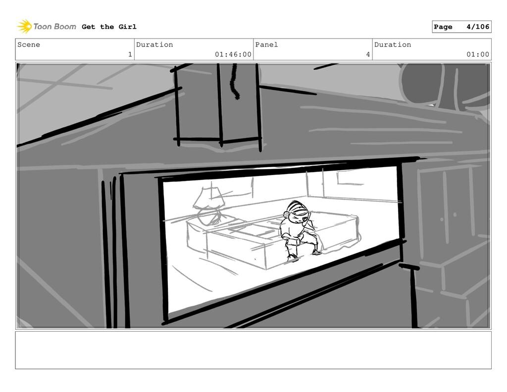 Scene 1 Duration 01:46:00 Panel 4 Duration 01:0...