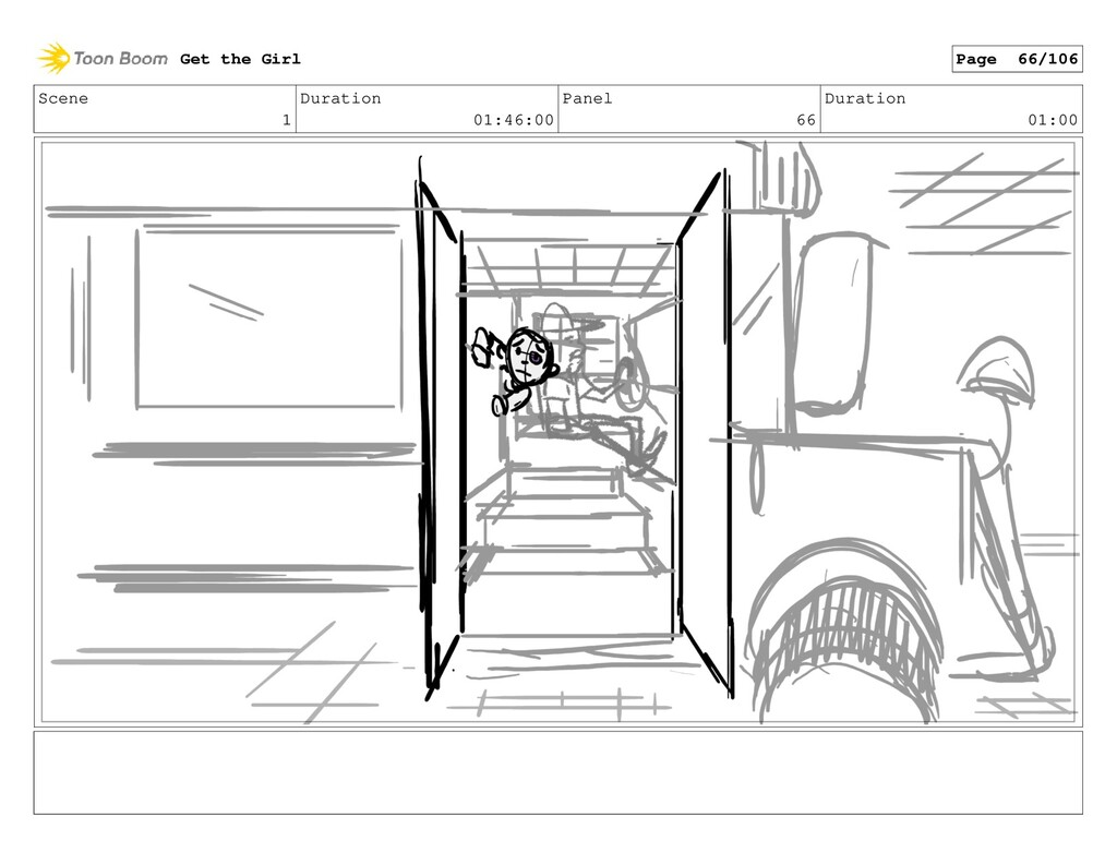 Scene 1 Duration 01:46:00 Panel 66 Duration 01:...