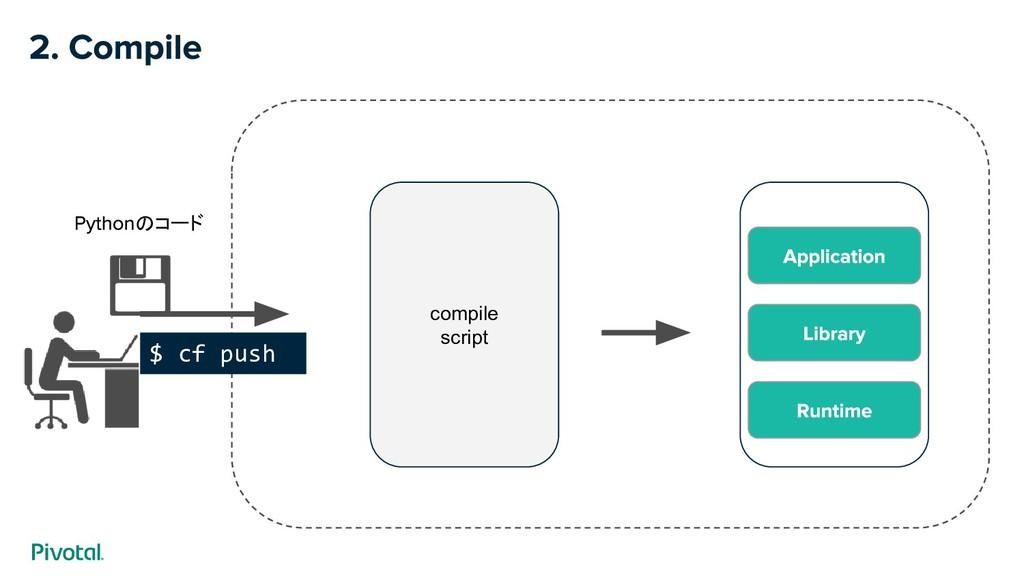 $ cf push のコード compile script