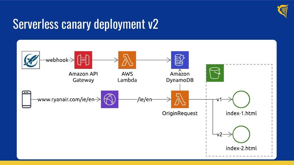 Serverless canary deployment v2