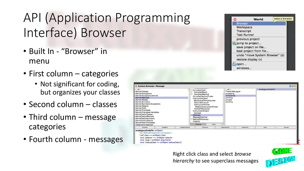 API (Application Programming Interface) Browser...