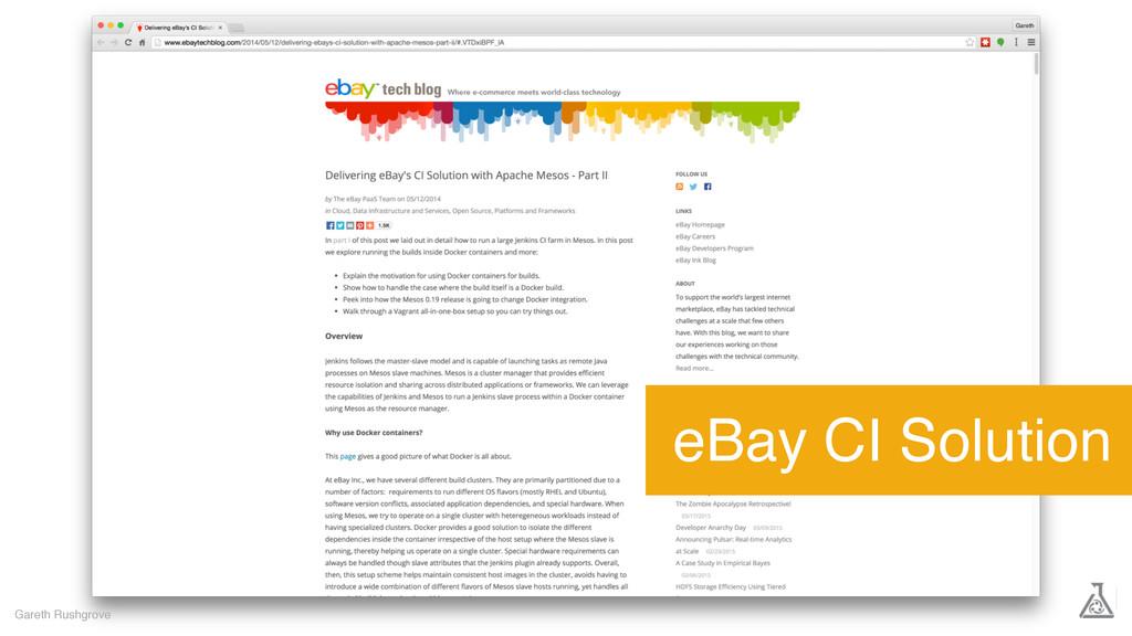 Gareth Rushgrove eBay CI Solution