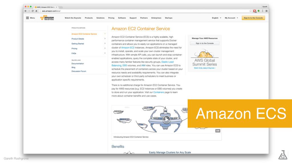 Gareth Rushgrove Amazon ECS