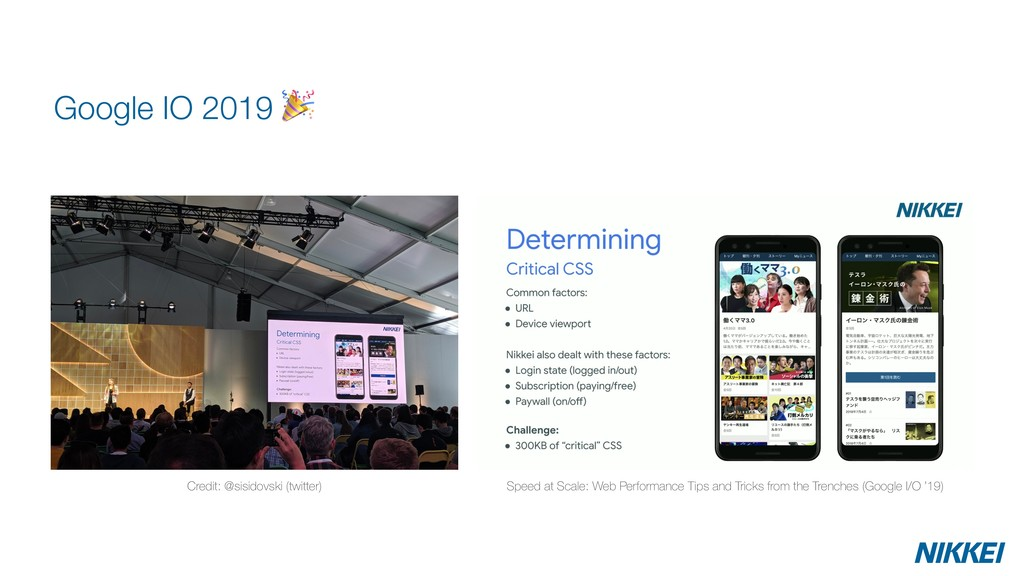 Google IO 2019  Credit: @sisidovski (twitter) S...
