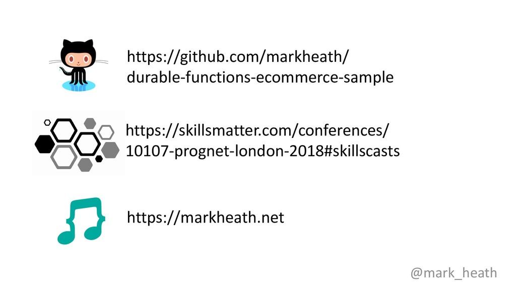 https://github.com/markheath/ durable-functions...