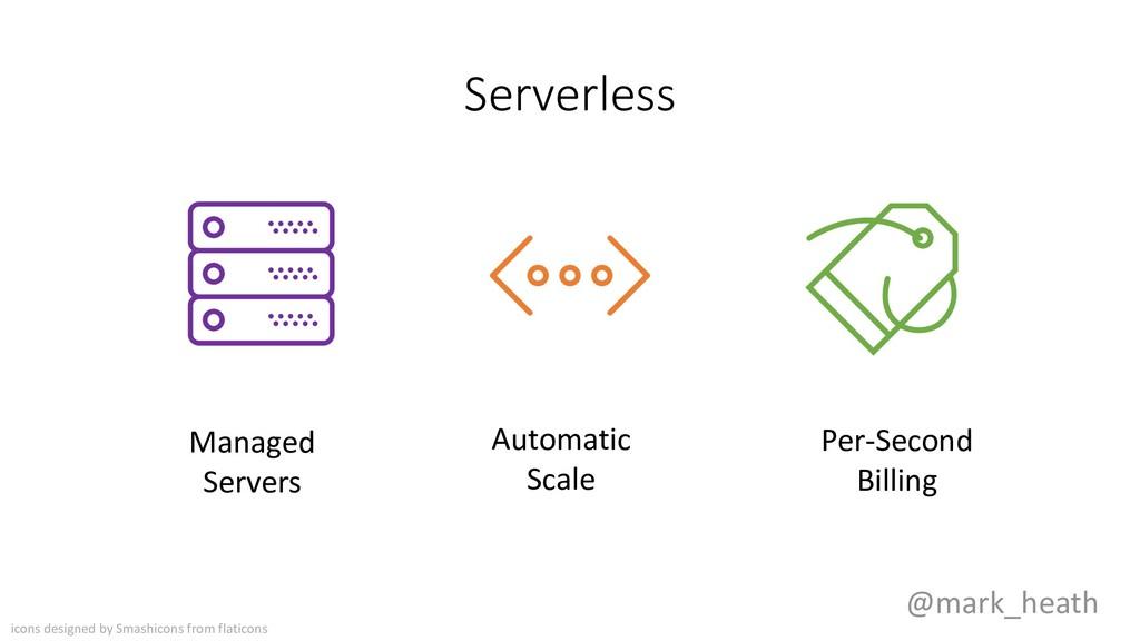 Serverless @mark_heath Managed Servers Automati...