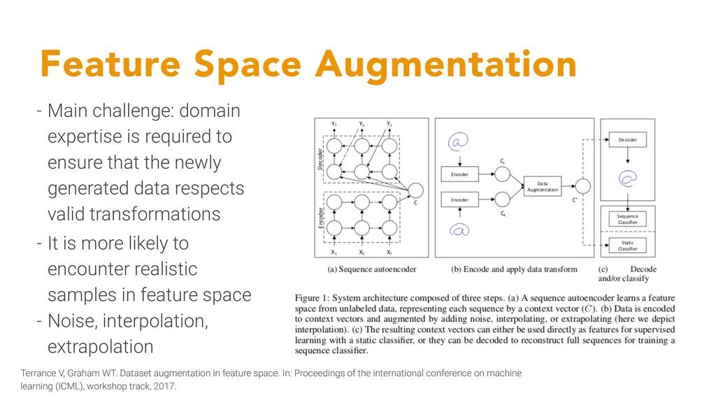 Feature Space Augmentation Terrance V, Graham W...