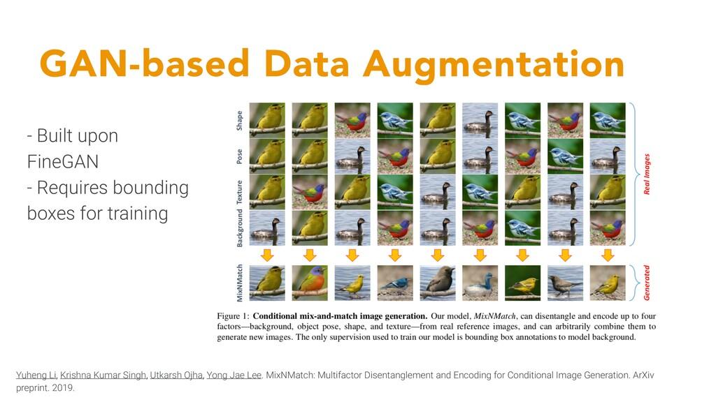GAN-based Data Augmentation Yuheng Li, Krishna ...